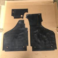 Early lowlight front floor mats