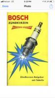 Bosch sparkplug