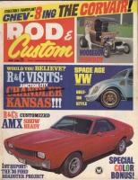 The original Thunderbug Rod and Custom cover car