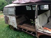 1958 Green / Green Subhatch Westy Camper seen on craigslist