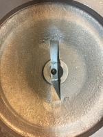 Worn engine parts