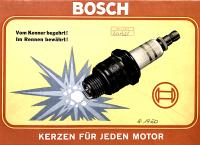 1950 Bosch catalog cover