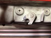 Split bus rear hatch latch '66