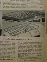 1960 Sears Allstate Luggage Rack Carriers
