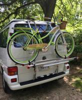 Fiamma Carry-Bike rack on Eurovan