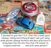 TPS Oval VW toy