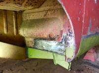 Left side inner rust repair