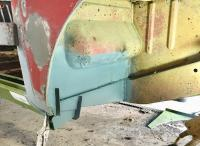 Right inner rust repair