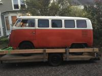 1965 Bus on Trailer