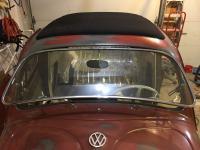 Haartz canvas ragtop top installed