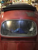 Rear window installed