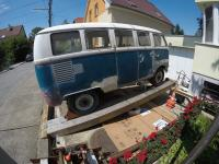 1967 13 window deluxe vw bus - underfloor