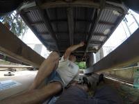 1967 13 window deluxe vw bus - underfloor