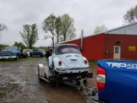 68 beetle convertible on haul.