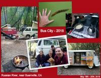 "The Toaster ('67 Westfalia) at ""Bus City"" 2018"