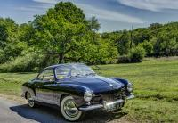 My '58 Ghia Coupe - New Forest National Park