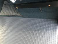 Custom sink galley cabinet and floor