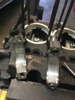 Engine tear after oil starvation