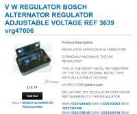 Adjustable external voltage regulator