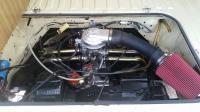 81 engine bay carburetor electronic distributor