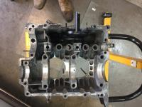 Oil sump replacement