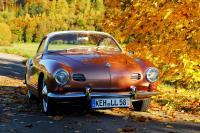 VW Karmann Ghia Lowlight L352 cognac 1958