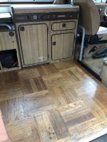vanagon wood floor
