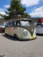 Slammed Green/Green Microbus