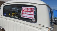 Bay Window Double Cab seen at Sacramento Bugorama May 2018
