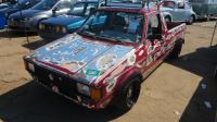 Diesel 1981 VW Caddy Rabbit seen at Sacramento Bugorama May 2018