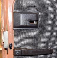 '84 Westy Front Sliding Door Latch Cover