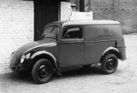 postal beetle van