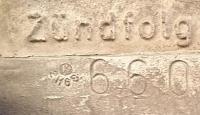 Marking on a 62 Pedestal