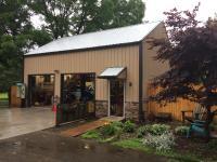 Backyard shop