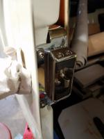 Sliding Door Lock Mechanisms Plated