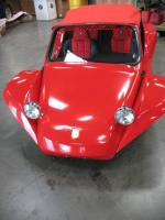 Diane's Build Red Manxter Soft Top