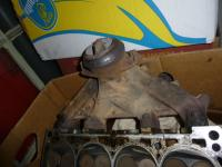 1.8 EX engine exhaust manifold
