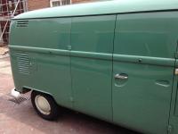 OG velvet green Italian panel 1965