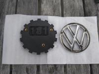 Custom 181 hood KDF emblem, CAD to 3D Printed