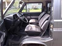 Vanagon black interior