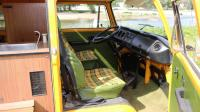 1979 Westfalia Helsinki Camper mit coffin carrier conversion Westfalia trailer