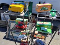 """A few Schuco Toys seen at the Alameda, California """"Alameda Point Antiques Faire """""""