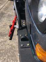 Bumper mount reinforcement and light bracket relocation project