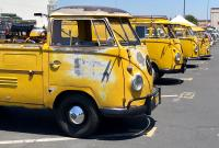 Postal Yellow Bus Lineup - OCTO 2018 Summer Show
