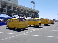 Postal Yellow Buses