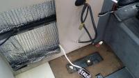 Westy fridge seam rust repair