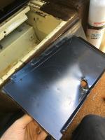 Empty battery box on dieee