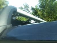 2015 vw golf tdi OEM VW mk7 rack with custom Thule fairing