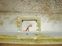 Screw Holes for Interior Light