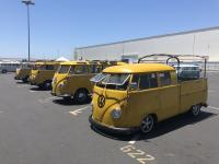 Postal yellow double cab